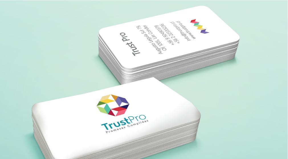 Papeleria para trust pro realizado por Chan style