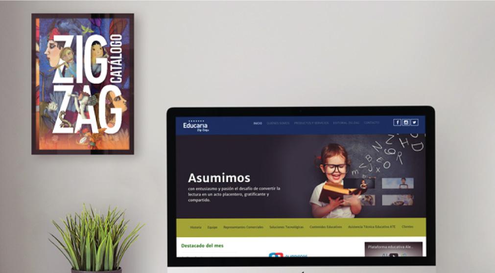 Lanzamiento de la nueva web de educaria zig-zag