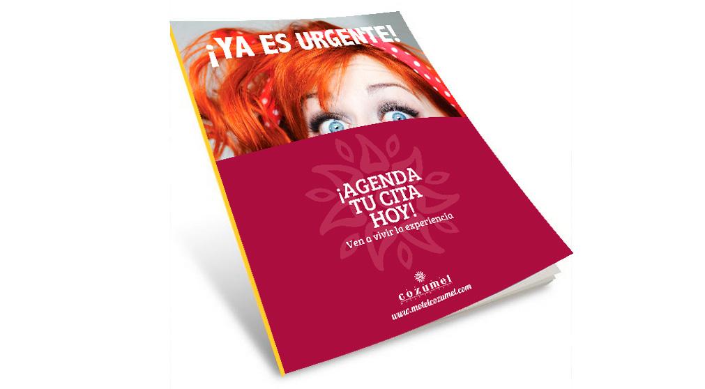 Campaña Día de la mujer para Cozumel en revistas, realizado por chan editores