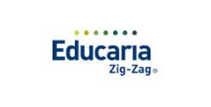 Logo educaria zig-zag
