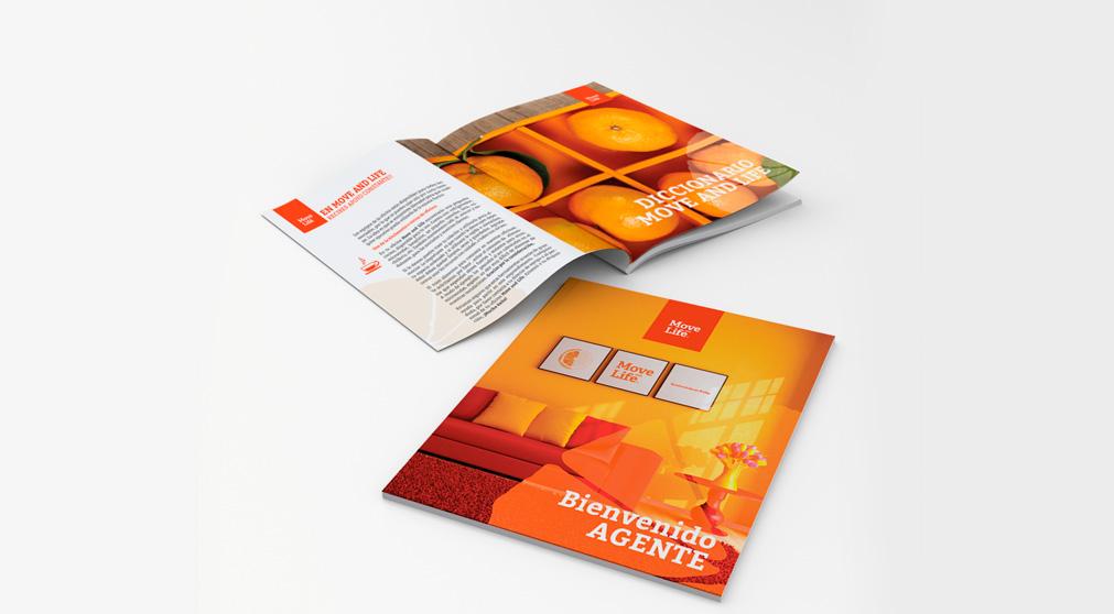 Catalogo diseñado para move and life por Chan editores en conjunto con Chan style