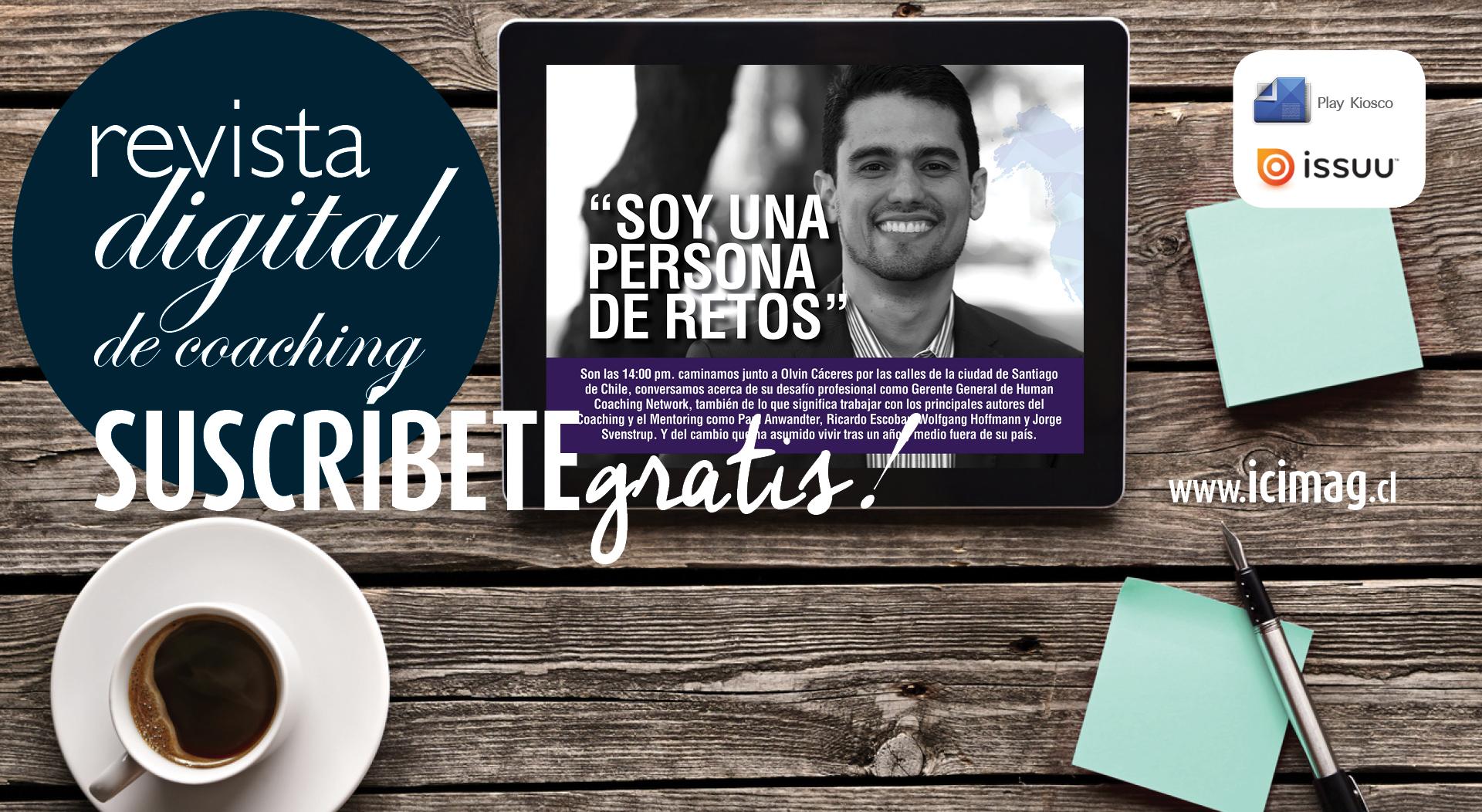 Campaña revista digital Icimag