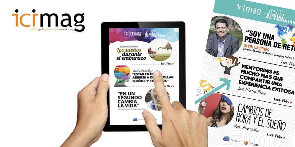 Nueva edicion de ICIMAG, revista digital